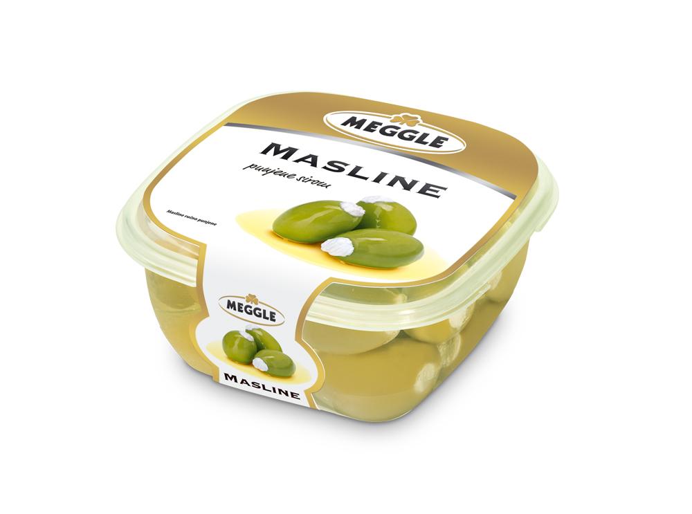 Meggle Antipasti olive polnjene s sirom
